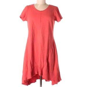 Anthro. Left Of Center T-Shirt Swing Midi Dress
